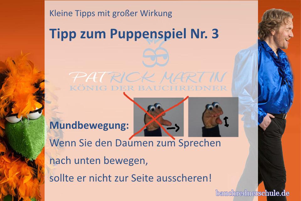 Tipp zur Mundbewegung einer Handpuppe 2