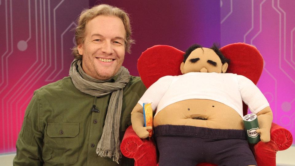 TV-Puppe steht zum Verkauf